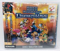 Dance Dance Revolutuon DISNEYS RAVE PS1 Sony Japan Import PlayStation PSX