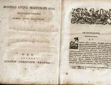 Historischer Druck 18. Jahrhundert Zedlitz 44 Seiten Halae Magdebvrgicae Halle