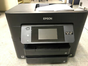 EPSON WorkForce WF-4740 Color Inkjet All-In-One Inkjet Printer complete!