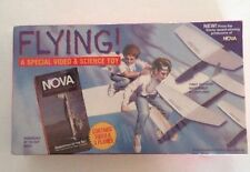 NEW Flying! A Special Video & Science Toy by Nova. Incl. Daredevils Of Sky VHS