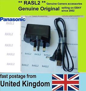 Original  Panasonic VSK0815L Charger + DC Cable HC- VXF990 VX980 W580 V380 V750
