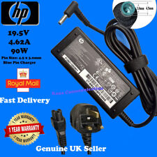 Genuine HP Envy 17-J053EA Charger Original Adapter Blue Tip 90W + Power Cable