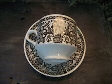 Vtg Retro Broadhurst Pottery Kathie Winkle Design Cup Saucer Medina Pattern