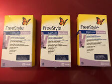 20x Abbott FreeStyle Optium Blood B-KETONE Test Strips Out of date