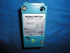 NEW NO BOX MICRO SWITCH LSH6B LIMIT SWITCH, HEAVY DUTY, 600 VAC, 10 AMPS, NEW