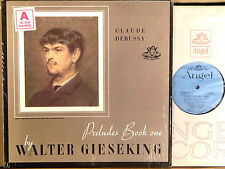 ANGEL BLUE Debussy GIESEKING Prelude Book One SHRINK 35066