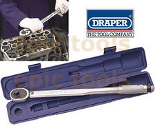 "DRAPER 1/2"" Sq.Drive Micrometer Reversible Ratchet Torque Wrench 30-210Nm, 30357"