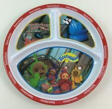 Teletubbies Plate Dinnerware Divided Melamine Noo Noo Kids Zak Designs