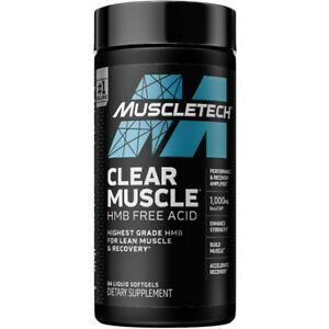 MuscleTech Clear Muscle NEXT GEN, With Beta Tor 84 Capsules, NEW Formula USA