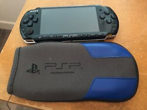 PSP 3000 with OEM AC Adaptor and pouch