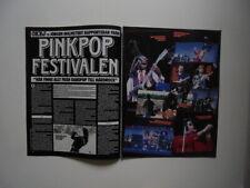 Pink Pop Festival 1985 Yngwie China Crises Rea GaGa Pernilla clippings Sweden