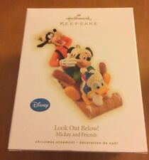 Hallmark Ornament Mickey And Friends Look Out Below!