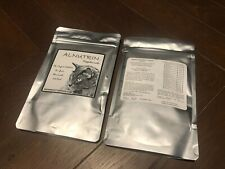2X Alnutrin cat raw food supplement vitamin powder with egg shell calcium