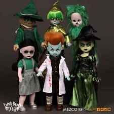 Living Dead Dolls LOST IN OZ Emerald City Exclusive Variant Set of 6 Mezco Toyz
