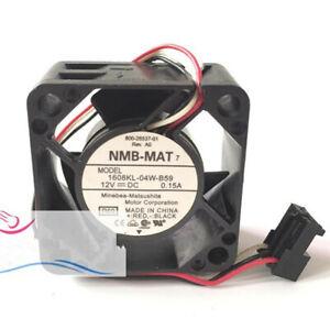NMB 1608KL-04W-B59 12V 0.15A 8000rpm 4CM 4020 3-pin inverter Cisco cooling fan