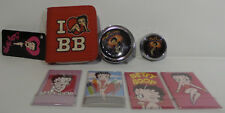 BETTY BOOP : PURSE, SET OF MAGNETS, PIL BOX & COMPACT BUNDLE (TK)