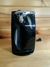 Hamilton Beach Electric Can Opener With Knife Sharpener Black