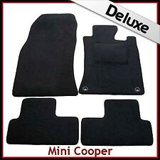 Mini Cooper / Cooper S  2001 2002...2006 Tailored LUXURY 1300g Car Mats 2 Clip