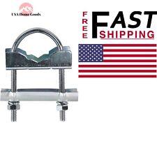 Channel Master Universal U-Bolt Nest Assembly Heavy Duty Steel For Antenna