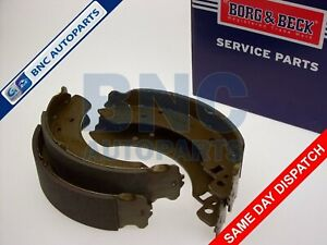 REAR BRAKE SHOES SET for FORD ESCORT MK 2 SPORT GHIA RS1800 RS2000 MEXICO  229mm