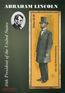Palau - 2011 - President Abraham Lincoln - Souvenir Sheet  - MNH