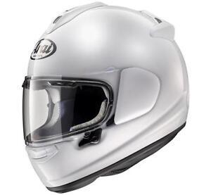 Motorcycle Helmet Integral Arai Chaser-X Diamond White AR3160DW White IN Fiber