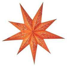 STARLIGHTZ earth friendly Faltstern Papierstern Lampe SPUMANTE orange 65cm - NEU