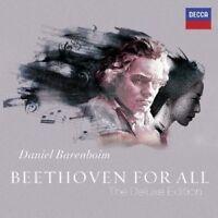 DANIEL BARENBOIM/+ - BEETHOVEN FOR ALL (DELUXE EDITION) 19 CD + DVD KLASSIK NEU