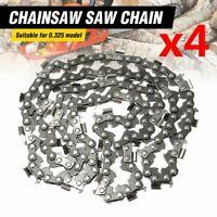 "4Pcs 20"" inch Chainsaw Saw Chain Blade Pitch .325 "" 0.058 Gauge 76 Drive Links"