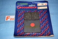 2 plaquettes de frein Avant GOODRIDGE Suzuki RG 400 500 GAMMA GSX GSXR 750 1100