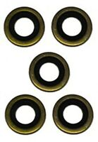 FOR PEUGEOT 207 307 CC SW 309 405 MK2 93-ON OIL DRAIN SUMP PLUG SEAL RING x5