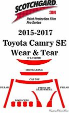 3M Scotchgard Paint Protection Film Pro Series 2015 2016 2017 Toyota Camry SE