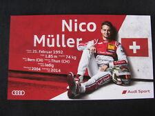 Audi RS 5 DTM, DTM 2015 #51 Nico Müller (SUI)