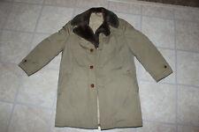 RARE Vintage 70's Woolrich Canada Goose Down Jacket Coat Parka Men's Sz. 38 Tan