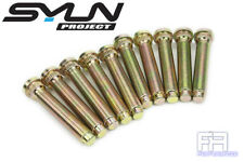 10x Syun 60mm Extend Wheel Stud 12x1.5 Knurl 14.38mm 10.9 Grade for Mitsubishi