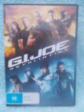 G.I.JOE RETALIATION DWAINE JOHNSTON,BRUCE WILLIS,CHANNING TATUM DVD M R4