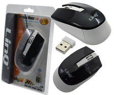 Mouse Ottico Wireless Linq V70 Senza Fili 2.4 Ghz