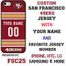 San Francisco 49ers Football Phone Case Cover Customized for iPhone LG etc.