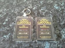 Overlook Hotel Gold Room Ball Keyring and Magnet Set. The Shining. King, Kubrick