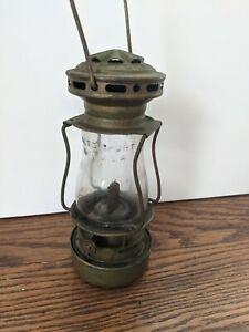 Vintage Dietz Sport 1908 Skaters Lantern Original Globe RARE