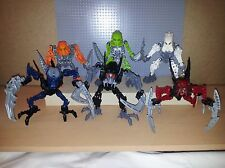 LEGO BIONICLE - MATORAN OF LIGHT FULL COMPLETE SET 8944 8945 8946 8947 8948 8949