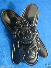 ACAPULCO MEXICO LONGBOARD SURFBOARDS 3D SILVER SKULL SERIES Hard Rock Cafe PIN