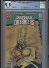 BATMAN AND THE OUTSIDERS #18 MT 9.8 CGC CANADIAN PRICE VARIANT HIGHEST 1 OF 1