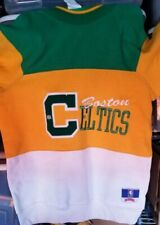 Vintage Boston Celtics Size M Long Sleeve Sweater made by Nutmeg Mills Authentic