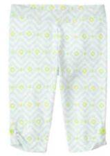 New Gymboree Girls Geo Print Capri Leggings Pants NWT Blue Safari Line 6-12 M
