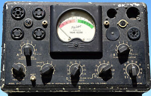 Australian Vintage Palec ET-3 (Paton) Valve, Vacuum Tube Tester from the 1950's