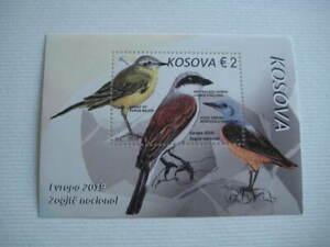 2019 Kosovo Europa CEPT Birds miniature sheet - MNH