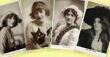 ☆ EDWARDIAN THEATRE / MUSIC HALL ACTRESS / DANCER ☆ 1900s Postcards LIST 20