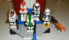 Lego Star Wars Delta Squad Republic Commandos Scorch, Fixer, Boss, Sev, Waton