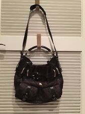 RARE BURBERRY BROMLEY PRORSUM BROWN QUILTED/PATENT LEATHER HOBO OR SATCHEL BAG